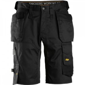 Snickers Shorts 6151 AllroundWork Stretch Holster Pockets - Black