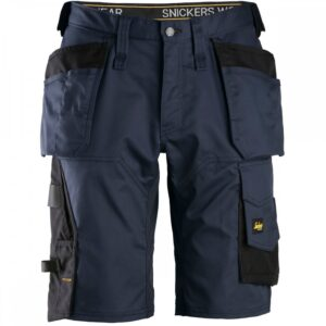 Snickers Shorts 6151 AllroundWork Stretch Holster Pockets - Navy