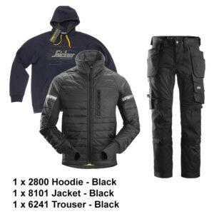 2800 - 8101 - 6241 bundle - black